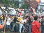 Violent dispersal of Protest in Edsa; Activists arrested