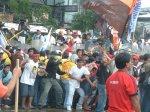 Violent dispersal of Protest in Edsa; Activists arrested