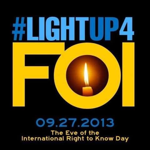 Light Up for FOI!