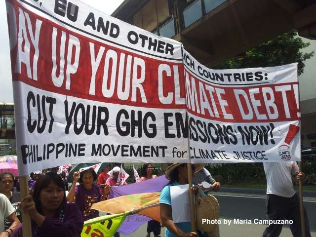 """Enough with the Deceptions, Pay Up Your Climate Debts"", Rich Countries Told"