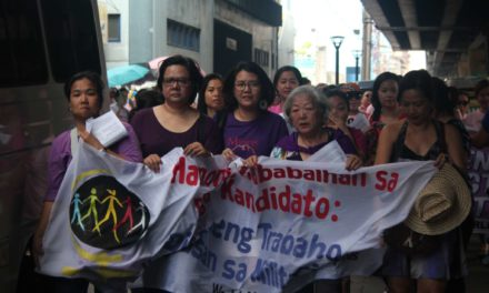 In Photos: International Women's Day 2016, Manila, Philippines
