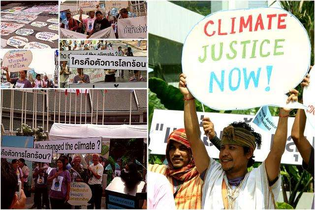 Demands of Thai civil society networks to address the climate crisis urgently and equitably