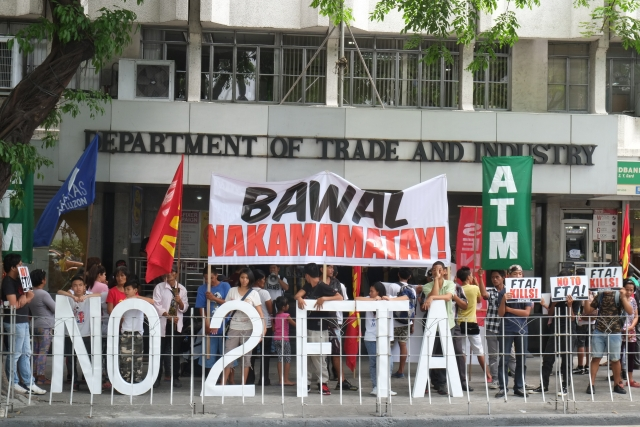 Filipino trade campaigners amplify concerns over ambitious FTA with EU: Peoples Rights over Corporate Profits in trade talks