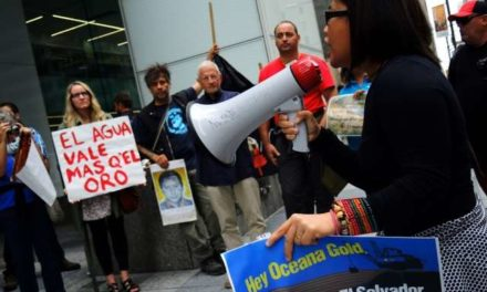 Philippine groups express solidarity to people of El Salvador in fight against mining giant Oceana Gold