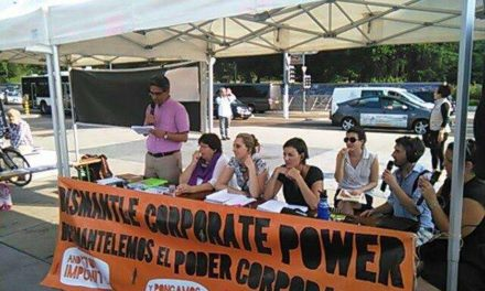 Social movements join together in Geneva to support a Binding Treaty on Transnational Corporations and Human Rights
