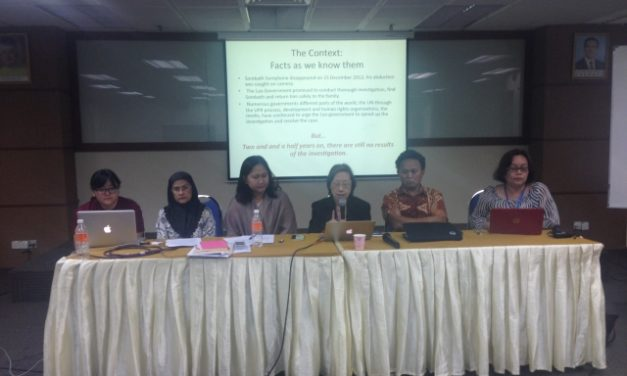 Statement Calling for ASEAN and AICHR to End Enforced Disappearance in South East Asia
