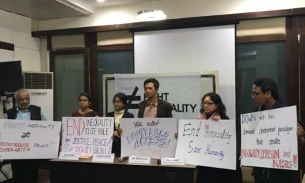 Global Movement Promises to Fight Inequality