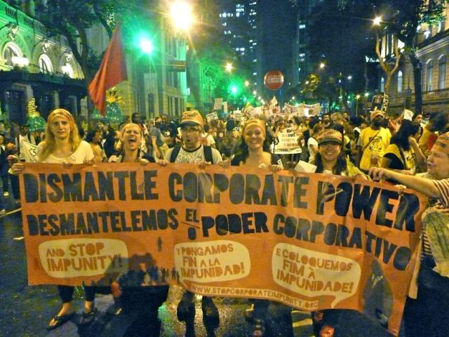 Live shows from Rio produced by the Social Movements Communications Convergence and Focus on the Global South