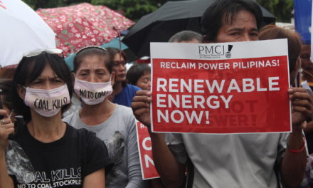 Global Reclaim Power 2016 October Days of Actions in the Philippines
