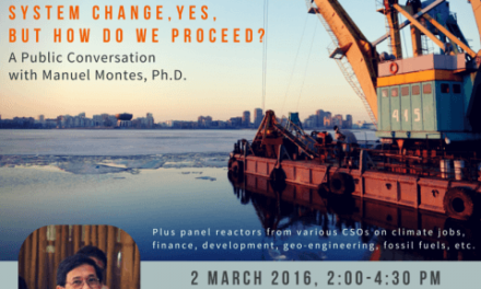 Capitalism V. Climate: System Change, Yes, But How Do We Proceed? | A Public Conversation