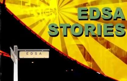 EDSANGANGDAAN: The EDSA Stories Film Festival Airing on Philippines' Knowledge Channel