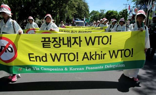 The WTO pushes through bad deal in the final hours; Developed countries and TNCs are the big winners