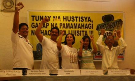 Hacienda Luisita Farmworkers-Beneficiaries Vow to Make their Land Productive; Urge government to review other SDOs and  distribute other landholdings under CARPER