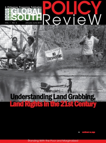 Focus Policy Review cover