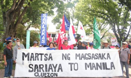 Solidarity Statement from Focus on the Global South for the Filipino Farmers Who Marched for Land, Food and Justice