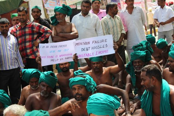 Bharatiya Kisan Union Backs Protesting Tamil Nadu Farmers in Delhi; Call that Demands be Met Immediately