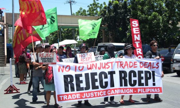 Call to ASEAN Leaders:  Reject RCEP & Oppose Unjust Trade Deals