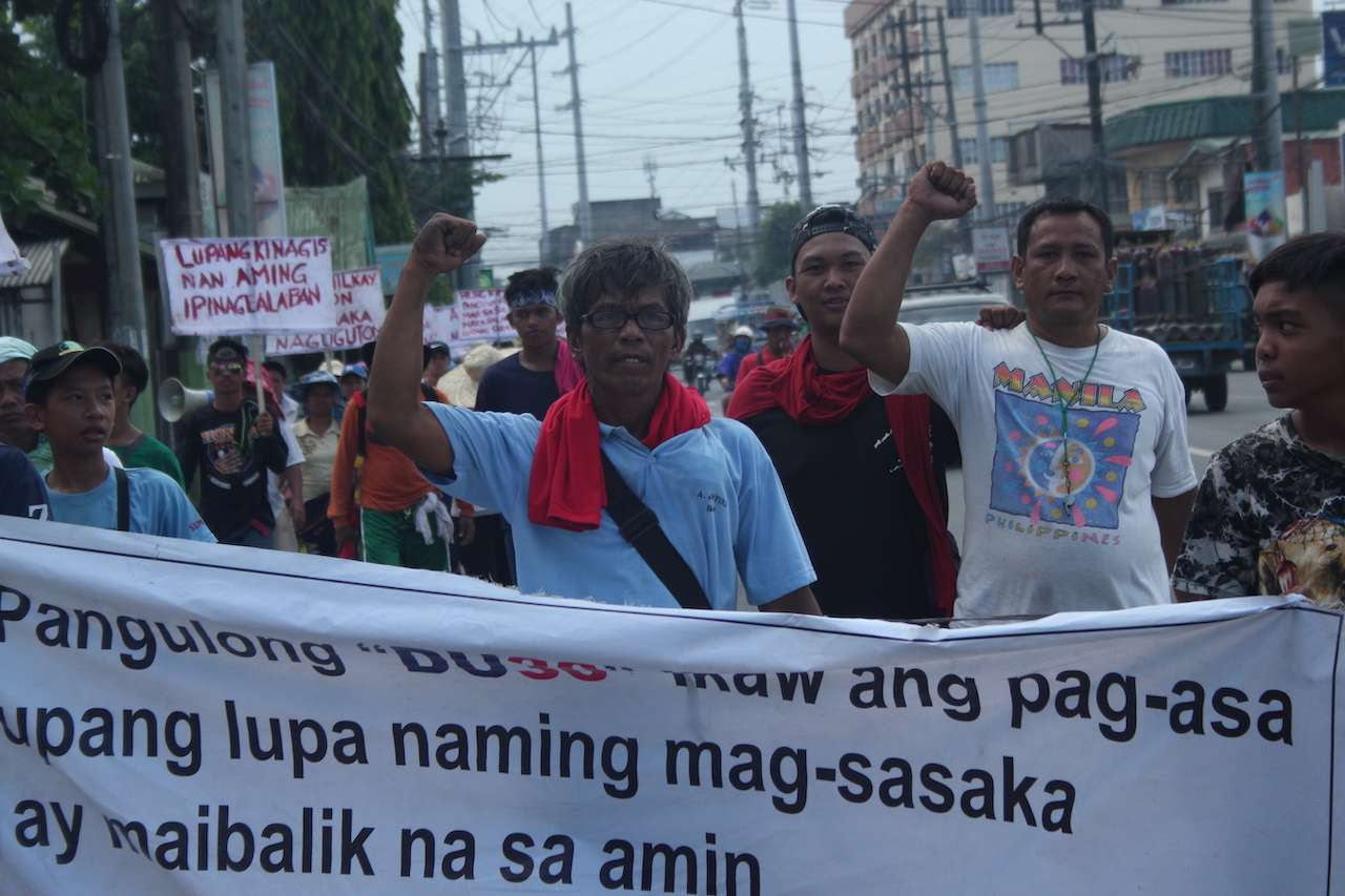 In Photos: March for Land and Social Justice
