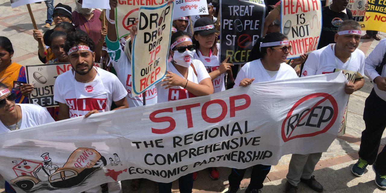 People's Groups Demand a Halt to RCEP Talks