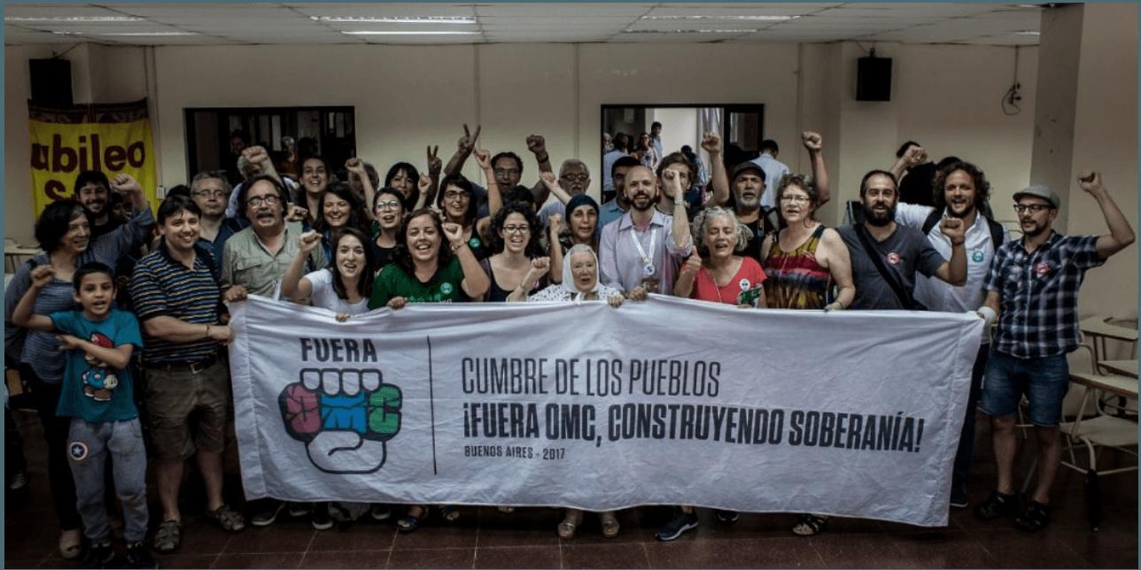 Basta ya! WTO: People Choose Sovereignty