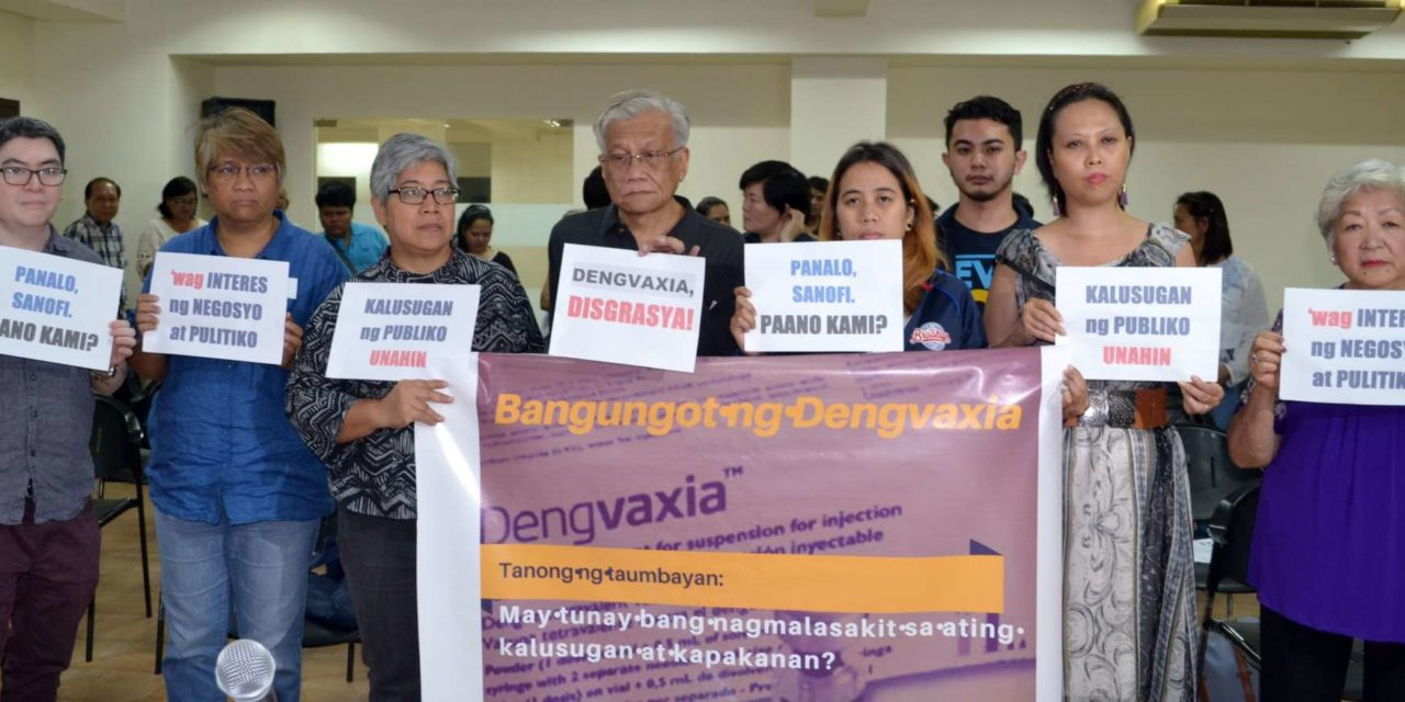 Dengvaxia: When Corporate Greed, Politics, and Corruption Threaten Public Health