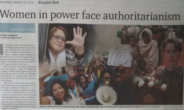 Women in power face authoritarianism