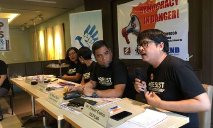 Philippine democracy in danger — IDEFEND