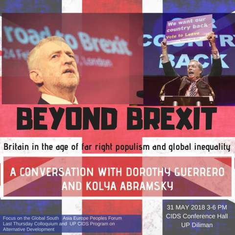 [PHILIPPINES] Beyond Brexit: Britain in the age of far-right populism and global inequality