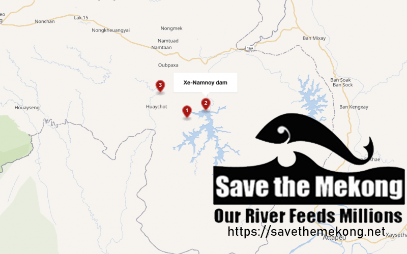 Save the Mekong Statement on the Collapse of the Xe Pian – Xe Nam Noy Hydropower Project (Lao Language version)