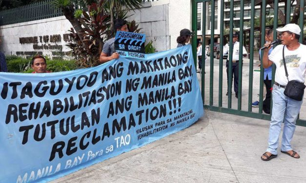 Civil society coalition slams anti-poor Manila Bay reclamation project