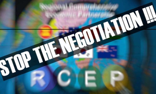 People's movements urge countries to stop RCEP negotiations