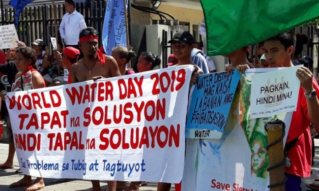 Climate justice group demands real solutions to metro water woes