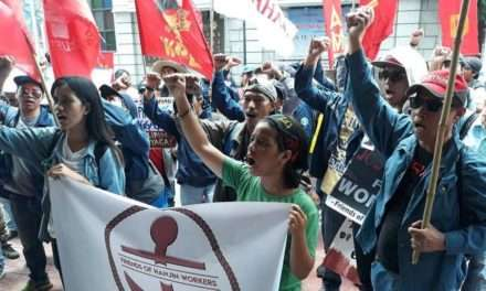 Groups demand return to work of locked-out shipyard workers