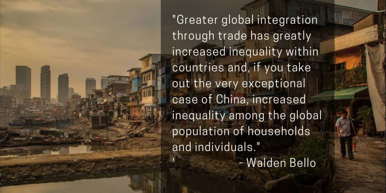 Free Trade is Bad for You (or Most of You at Any Rate)