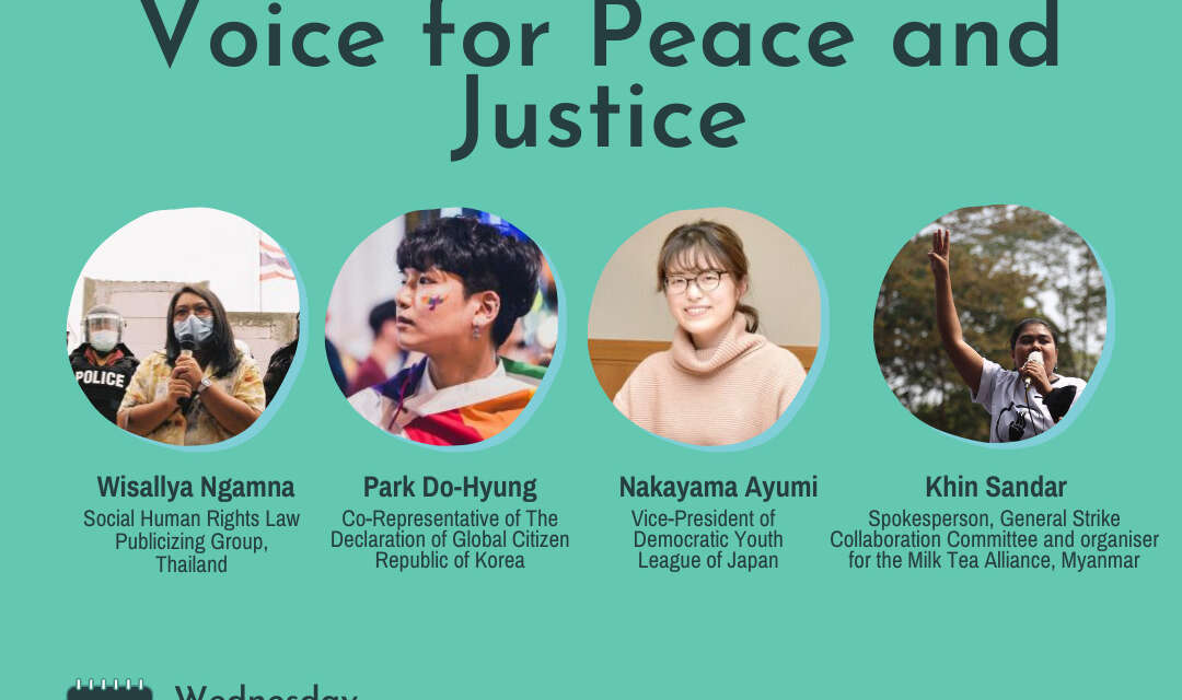 Asian Generation Z's Voice for Peace and Justice